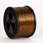 Gold 27 gauge 5 lb spool Wire (50 lbs. Case)