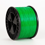 Green Flat 20 x 24 gauge 5 lb spool Wire (50 lbs. Case)
