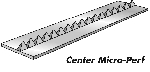 Center Micro- Perforator - Paper 10 Ft (3m) 40 teeth