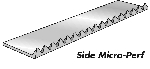 Side Micro Perforators - Paper 20 Ft (6m) 40 Teeth