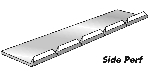 Side Perforator - Paper 10 Ft (3m) 8 Teeth