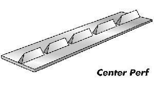 Center Perforator - Card 10 Ft (3m) 8 Teeth