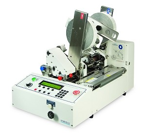 "Double-Head Multi-Side Tabbing System - 25,000 pieces per hour, runs 1.5"" tabs"