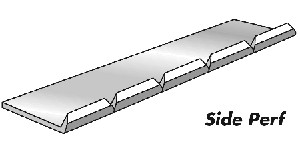Side Perforator - Card 20 Ft (6m) 6 Teeth