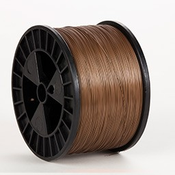 Bronze 22 gauge 5 lb spool Wire (50 lbs. Case)