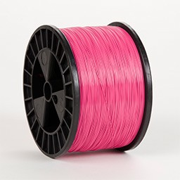 Pink Flat 21 x 25 gauge 5 lb spool Wire (50 lbs. Case)