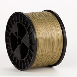 Wheat Gold Flat 20 x 24 gauge 5 lb spool Wire (50 lbs. Case)