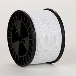 White Flat 18 x 20 gauge 5 lb spool Wire (50 lbs. Case)